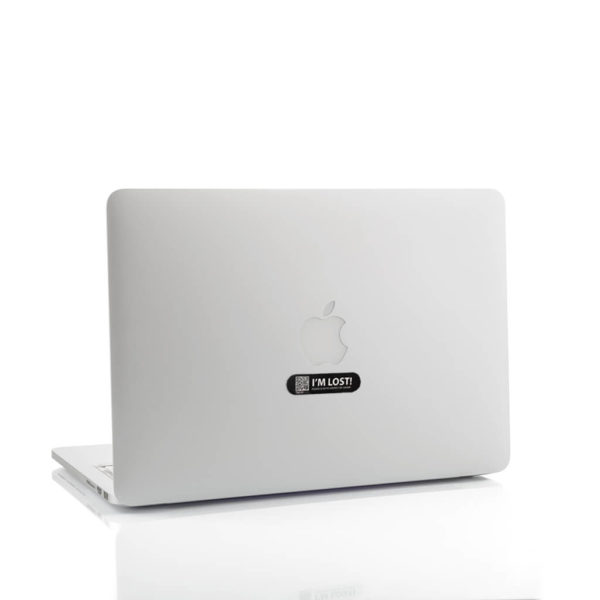 Sticker Midnight Black -Macbook
