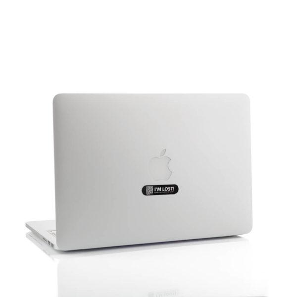 Sticker Midnight Black -Macbook