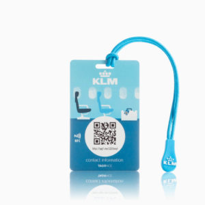 KLM Creditcard - grijze achtergrond