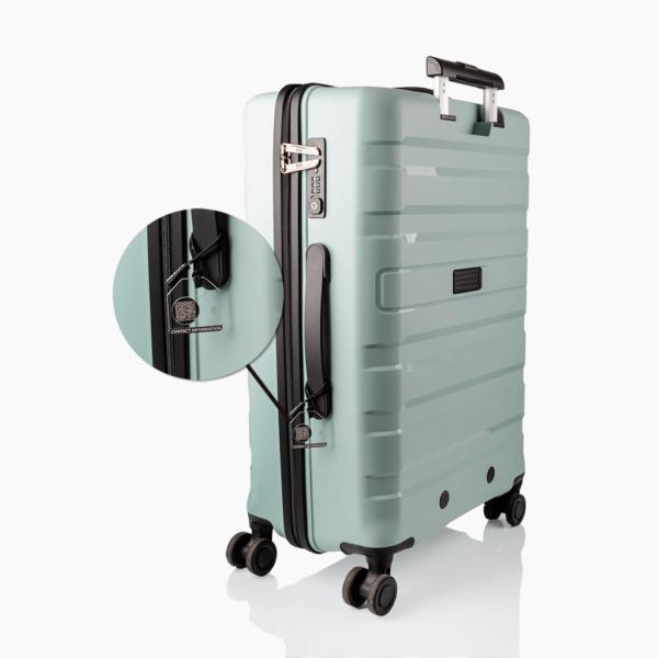 Transparant bagagelabel - ANWB koffer