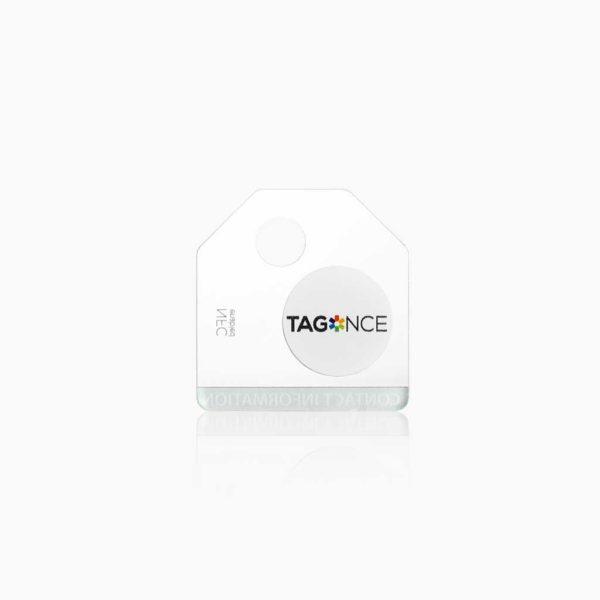 Transparant bagagelabel - Tag achterkant
