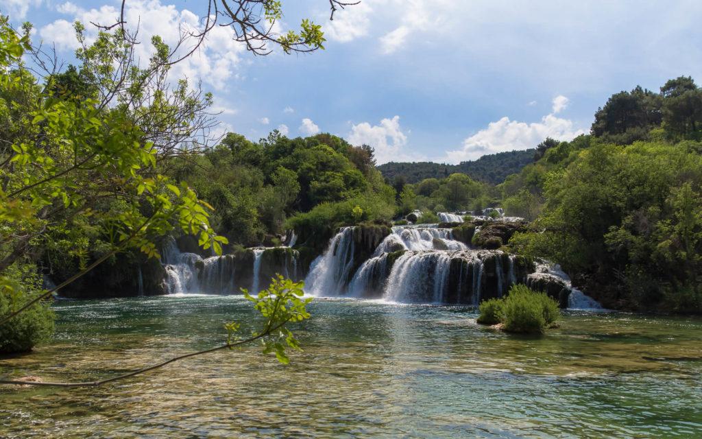 Krka watervallen - Kroatie