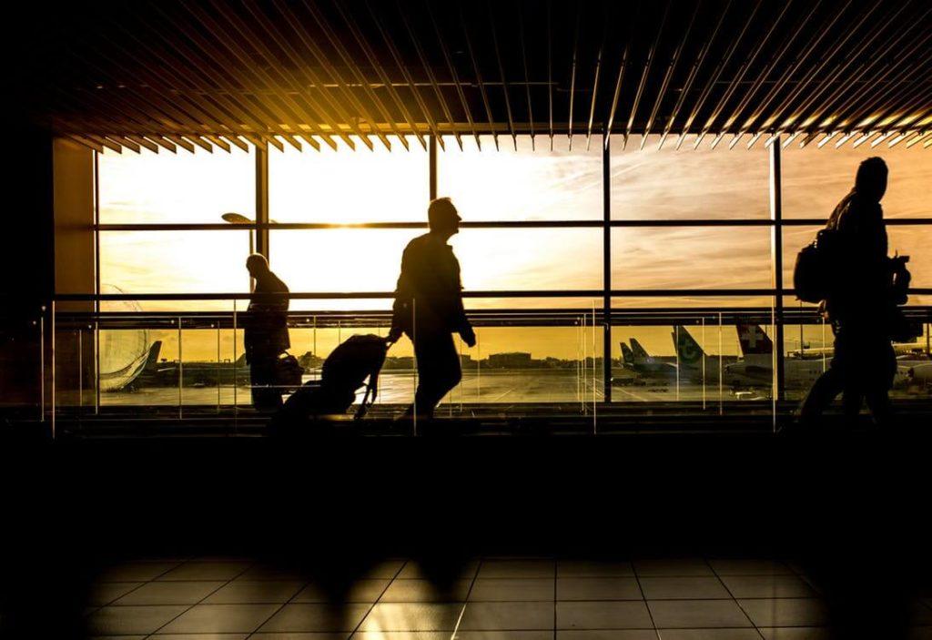 Verveling op het vliegveld
