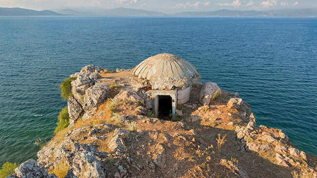 Bunker in Albanie