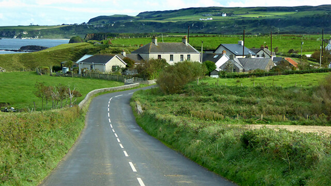 Causeway Coastral Route - Noord-Ierland