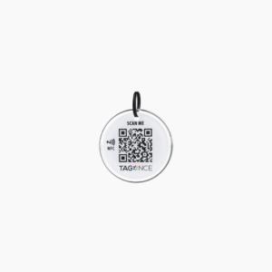 Sleutelhanger - QR code