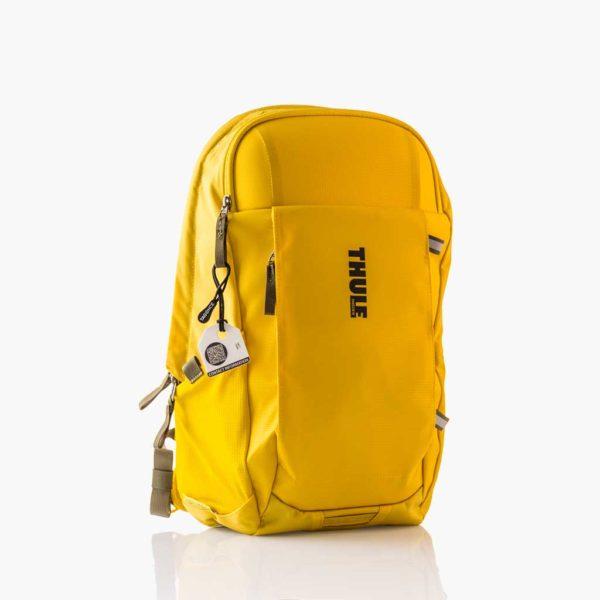 Wit bagagelabel Tag - Thule gele tas