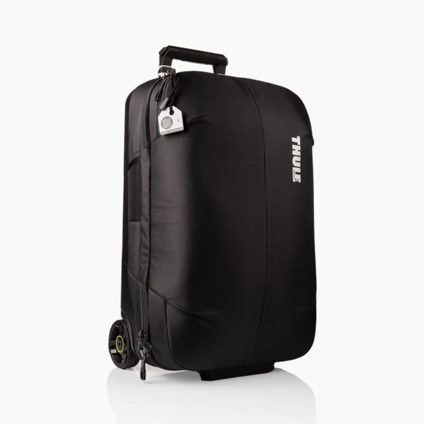 Wit bagagelabel - Tag Thule tas