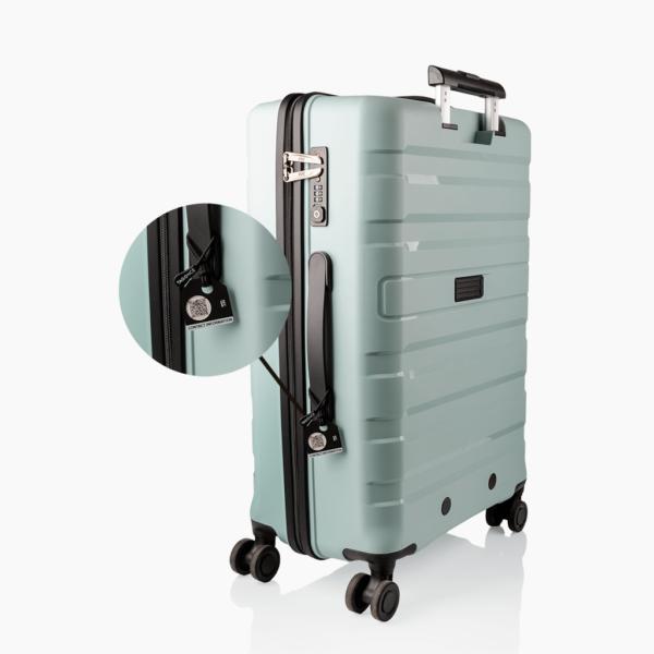 Zwart bagagelabel - ANWB koffer