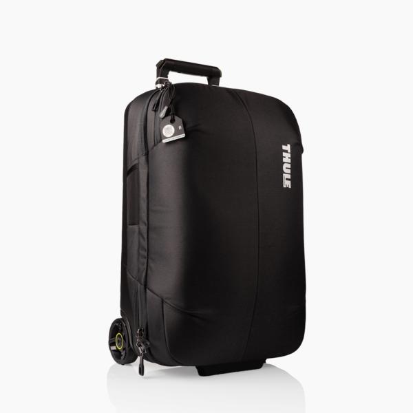 Zwart bagagelabel - Tag Thule tas