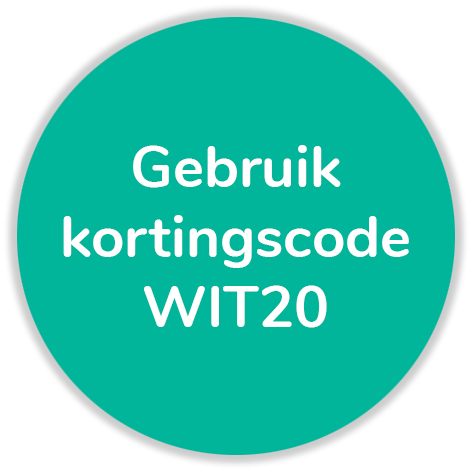 Kortingscode WIT20
