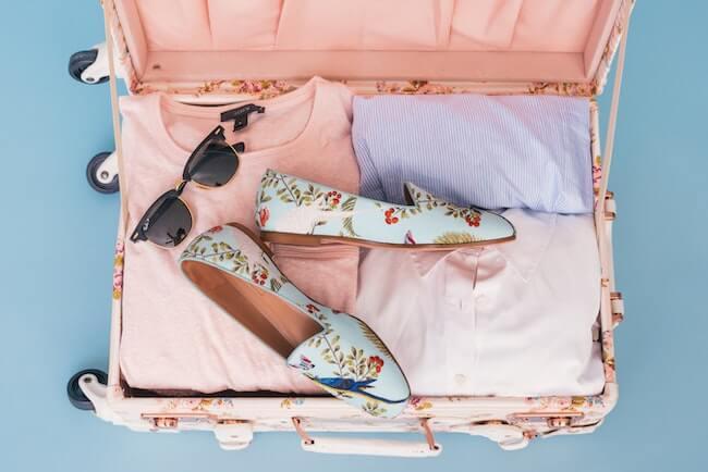 hoe je koffer inpakken