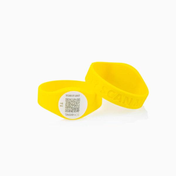 Armband-geel-2-stuks