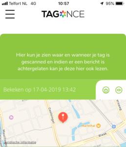 GPS locatie hond