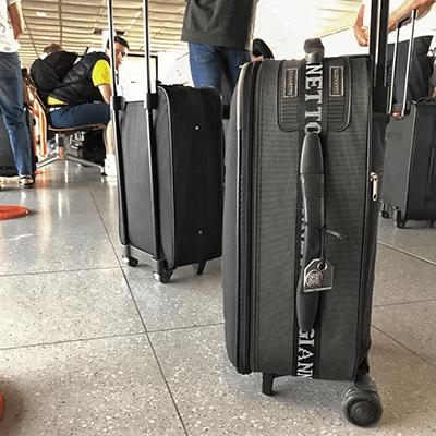 Koffer - Vildan - Vliegveld Dortmund